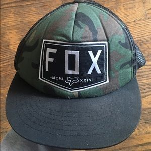 Fox racing hat one size fits all